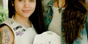 Retratos: Lorena y Carla.