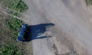 Grabación con drone imagen fija