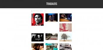 Web de Gabi Ochoa. Trabajos