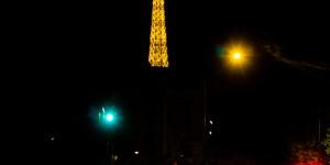 París. Nocturna amarillo.