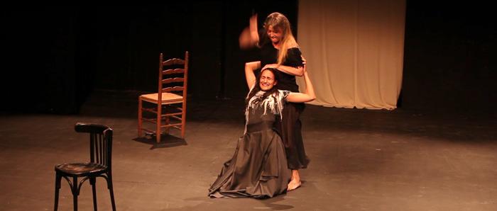 Sandra Ferrández y Belén Roig. Promocional Ópera Carmen