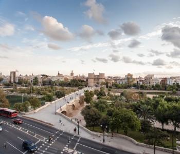 Valencia skylines